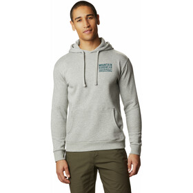 Mountain Hardwear Berkeley 93 Sudadera Capucha Hombre, heather manta grey